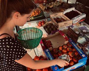 Frisches Obst während Housesitting