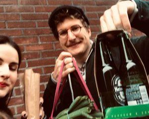Natalies und Christophs Einkauf